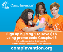 Camp Invention Registration
