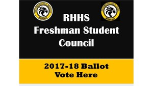 8th Grade Student Vote for Freshman Student Council