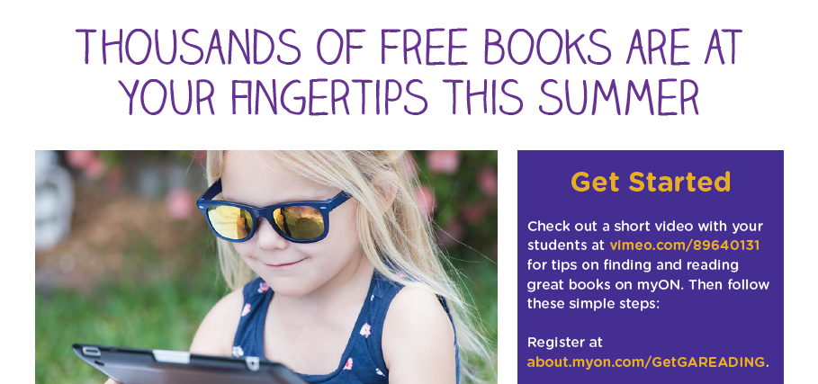 Summer Reading--Free Books!