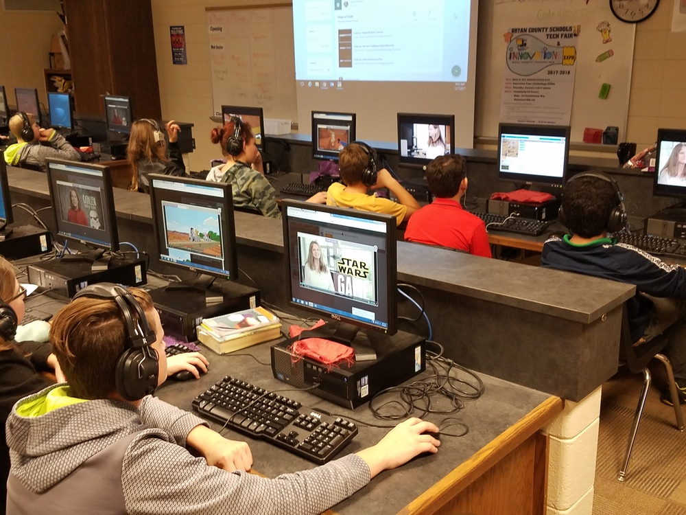 Hour of Code at RHMS