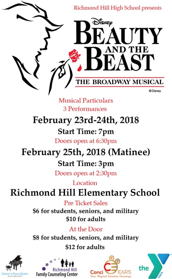 RHHS Presents Beauty and the Beast