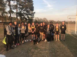 Boys' Track Team wins 2nd Place