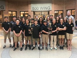 Girls and Boys Golf Team win Championships