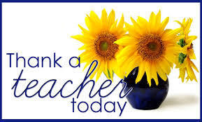 Teacher Appreciation Week is May 7th - 11th!