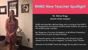 New Teacher Spotlight - Melissa Bragg