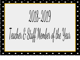 18-19 Teacher & Staff Member of the Year
