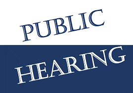 Notice of Public Hearings for the FY 2021 Proposed Budget