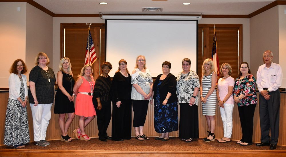 2019 Retirees Recognized at May BOE Meeting