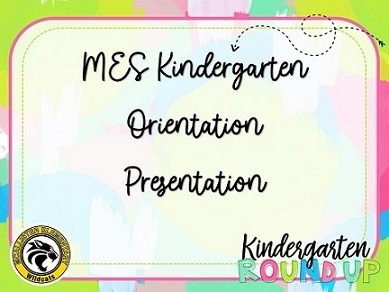 Kindergarten Orientation Presentation Download