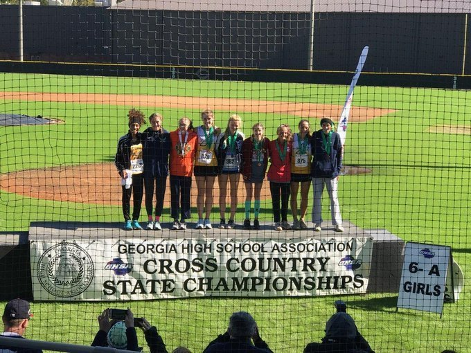 Cross Country STATE Champ - Kayla Gholar
