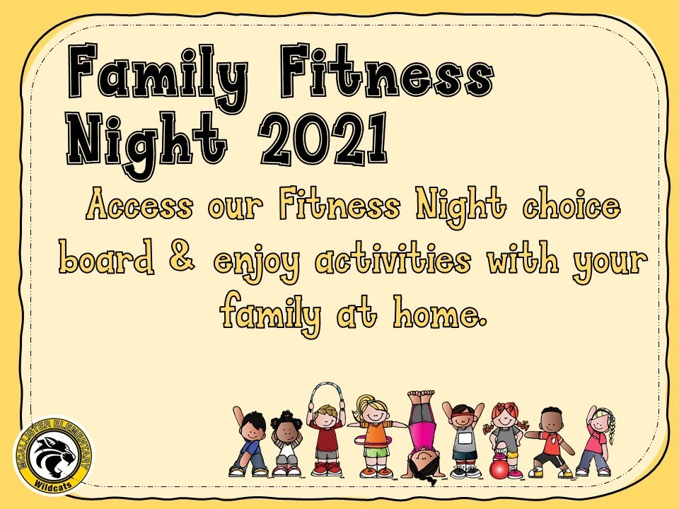 Virtual Family Fitness Night 2021