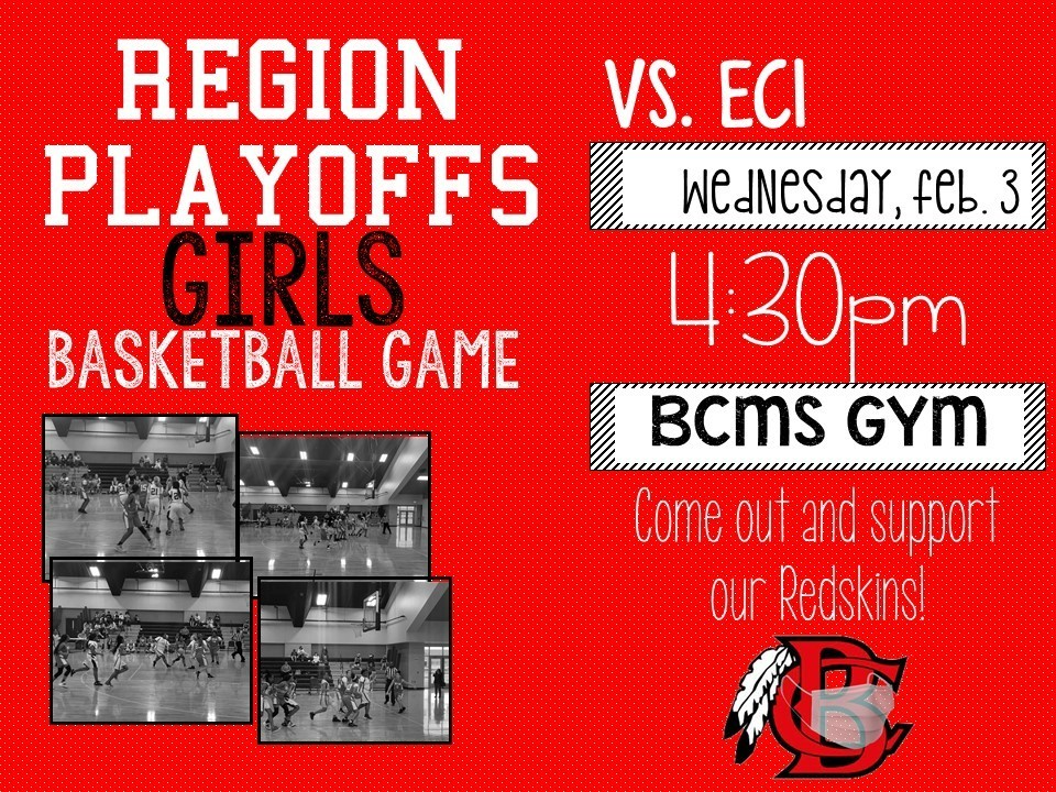 Girls Basketball Playoff Information