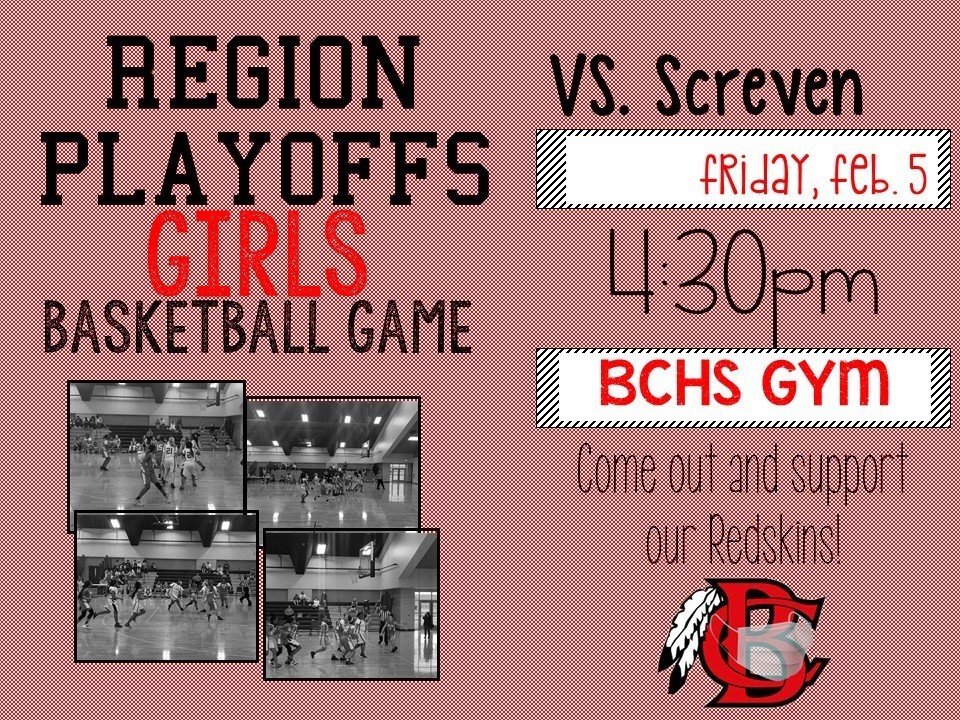Girls Basketball Playoff Information - Round 2