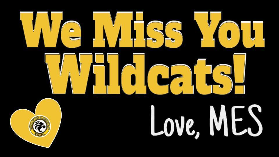 We Miss You Wildcats