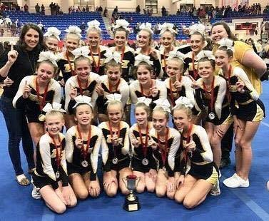 RHMS Competition Cheerleaders win State!