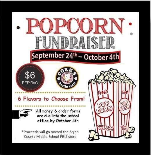 Support Positive Behavior - Popcorn Fundraiser