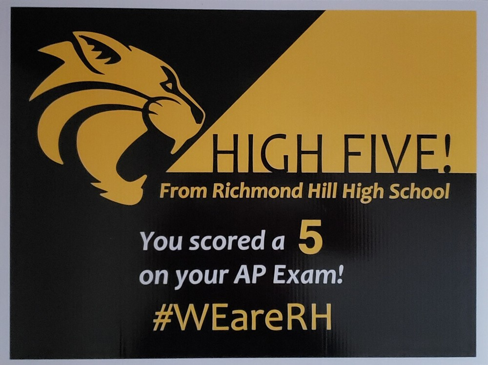 RHHS Earns 2019 AP Honor School Status