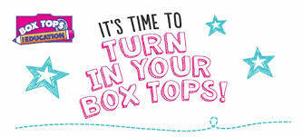BoxTops for Education:  Fall Submission