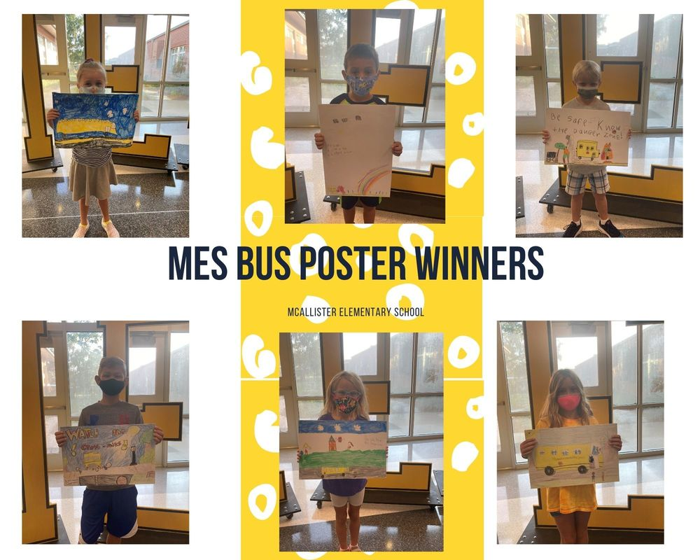 MES Bus Poster Winners