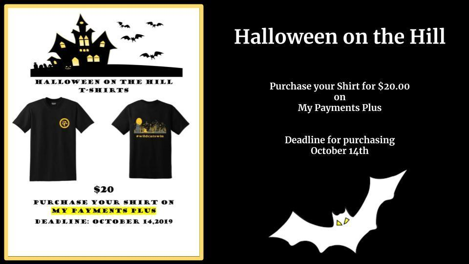 Halloween on the Hill TShirts