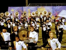 Wildcat Band takes Superiors at 1st Competition
