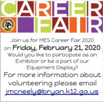 Save the Date:  Career Fair 2020