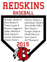 Congratulations to our 2019 BCMS Baseball Team!