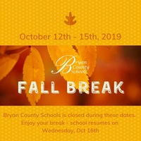 Enjoy Fall Break