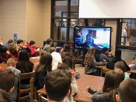 Students Skype with founder of Metro Atlanta Urban Farm