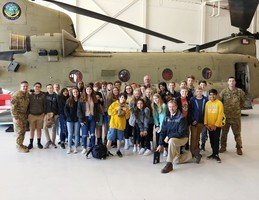 Mr. Moore's Class visits Hunter Army Airfield