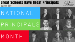 BCS Celebrates National Principals Month