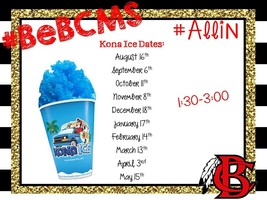 For Your Sweet Tooth - Kona Ice!!