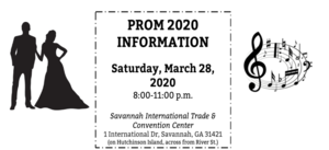 Prom 2020 Information