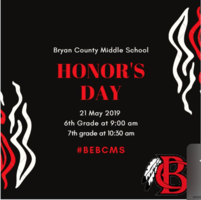 Honor's Day is May 21st!