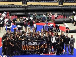 RHHS Wrestling State Runners-Up