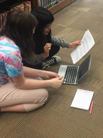 Students create Podcasts during ELT