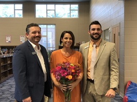 Emily Dixon - District Teacher of the Year