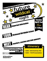 Future Wildcat Night for 5th Graders