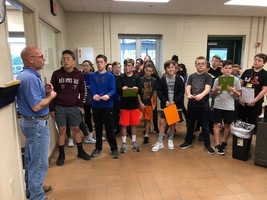 RHMS Students visit Wastewater Treatment Facility