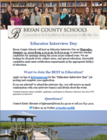 Educator Interview Day