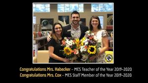 MES Teacher & Staff Member of the Year