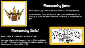 Homecoming Activities at RHMS
