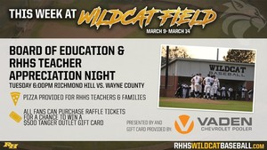 RHHS Teacher Appreciation & Board of Education Appreciation Night