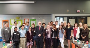 State Superintendent Woods Visits RHHS