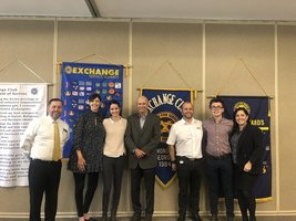 Nov. & Dec. Exchange Club Students of the Month