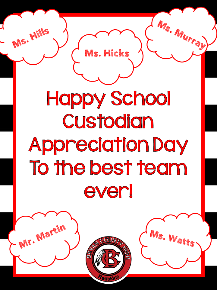 custodian appreciation