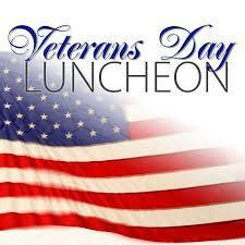 Veterans Day Luncheon cancelled due to weather