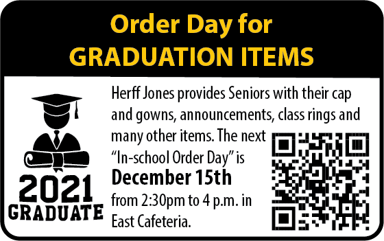 Order Day for Graduation Items