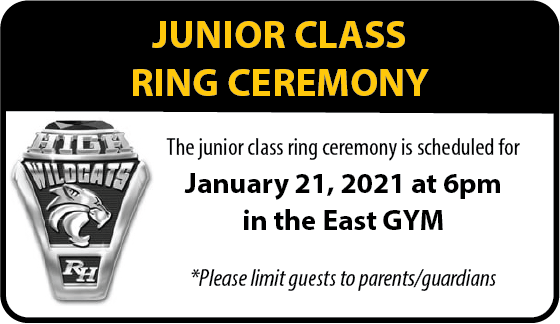 Junior Class Ring Ceremony Information
