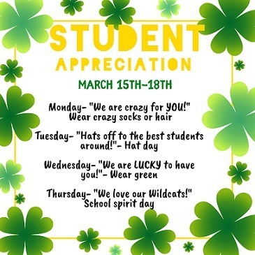 Student Appreciation Week at MES